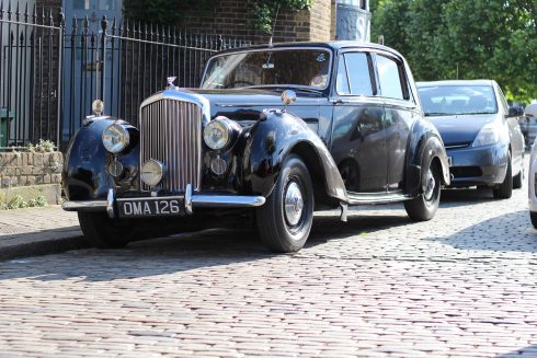 1951 Bentley wedding car